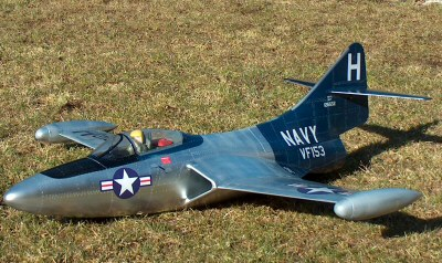 Click to view more about my Aeronaut F9-F Panther